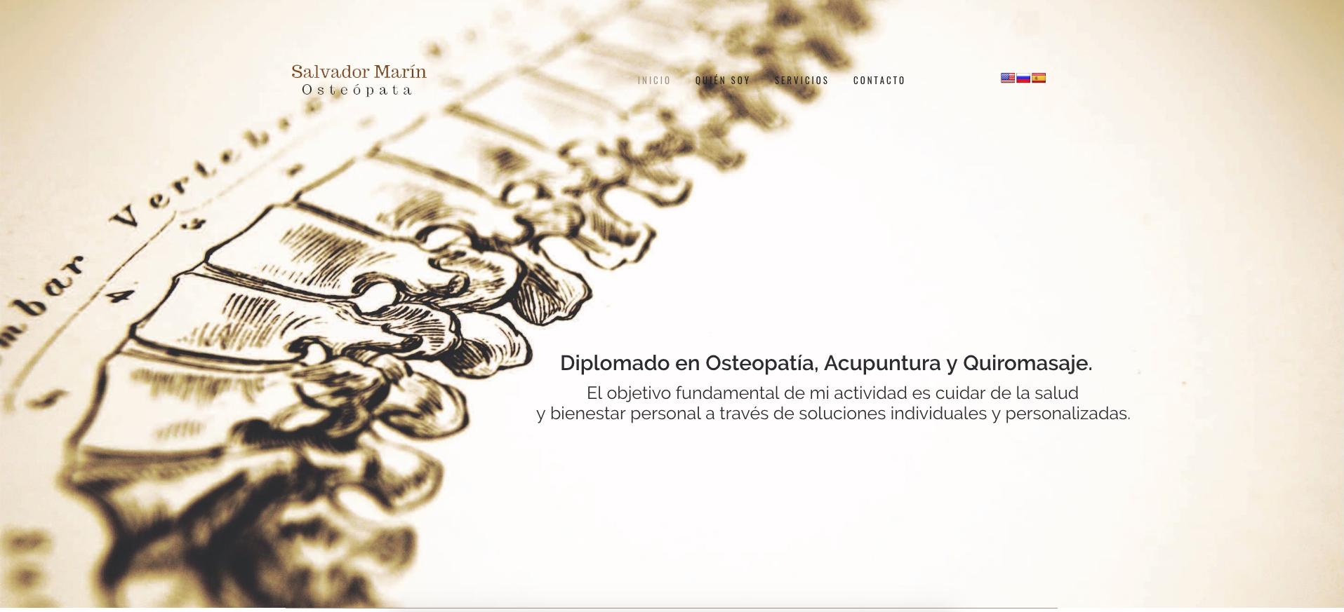 Osteopatía Salvador Marín